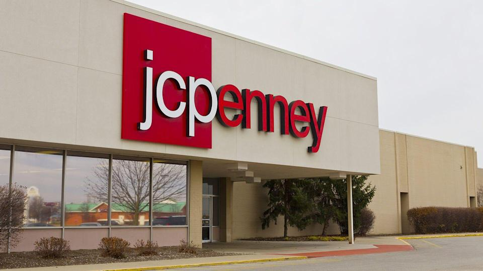 JC Penney Retail Mall Location.