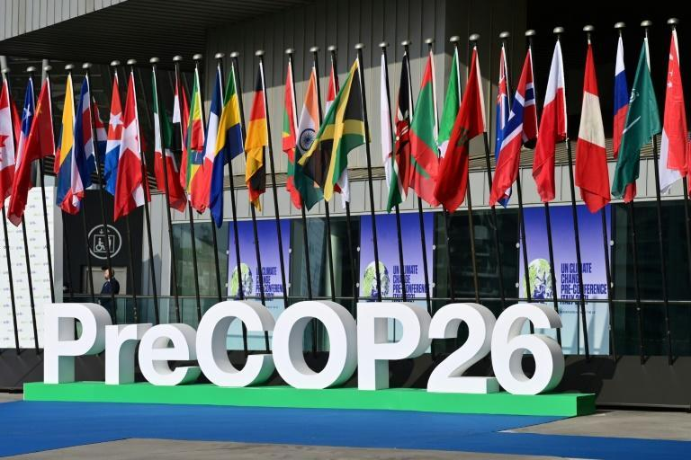 Energy, agriculture, construction, transport, industry and forestry -- these are the six sectors to target if humanity is to halve greenhouse gas emissions by 2030 (AFP/MIGUEL MEDINA)