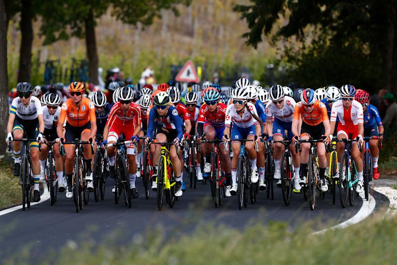 The women's road race at the UCI Road World Championships