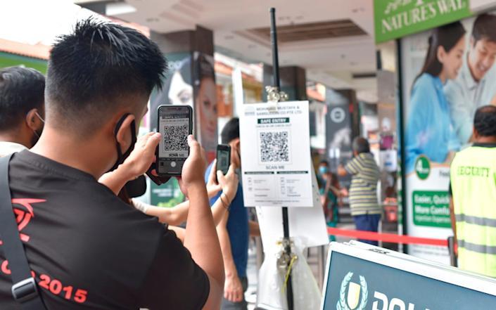 Cases are coming under control in Singapore
