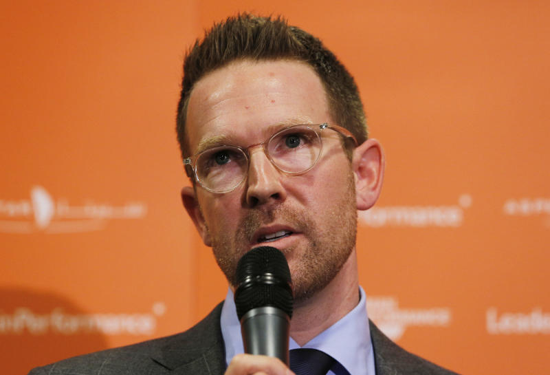 Oklahoma City Thunder GM Sam Presti asked for patience from the small-market faithful. (Reuters)
