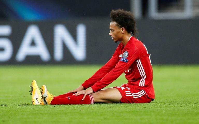 Leroy Sane is back in the Bayern squad after missing three matches