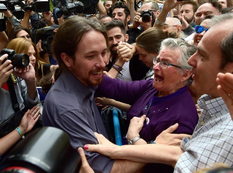 Podemos and Iglesias made a big political impact in 2015
