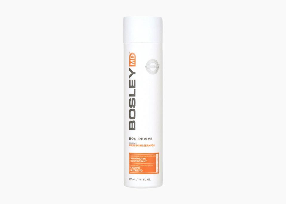 "$21, Ulta. <a href=""https://www.ulta.com/bosrevive-color-safe-nourishing-shampoo?productId=pimprod2017423"" rel=""nofollow noopener"" target=""_blank"" data-ylk=""slk:Get it now!"" class=""link rapid-noclick-resp"">Get it now!</a>"