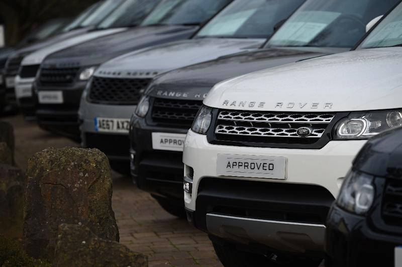 Tata Motors said increased sales of its Jaguar Land Rover cars in Britain and the US helped offset falls in China