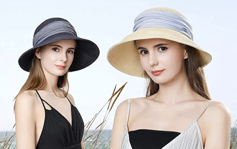 The stylish hat is available in 15 different variations. (Photo: Amazon)