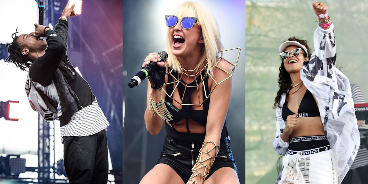 """<p>Whether you're a seasoned junkie or a newbie to the scene, it can't hurt to get a few tips on proper music festival behavior. With Coachella right around the corner, it's time to brush up on your concert decorum. </p><p>Here, the hottest performers and headliners of the summer share their tips on how to have the most fun at this year's festivals. And just because they're on the other side of the stage, that doesn't mean they don't know what they're talking about. Flip through to read their advice and find out where they're playing this summer.</p><p>And if you don't know which festival you're going to yet, <a rel=""""nofollow"""" href=""""http://www.harpersbazaar.com/culture/art-books-music/g8214/summer-music-festivals-2017/"""">check out our extensive list</a> for lineups, dates and ticket links to help you decide. Happy festing!</p>"""