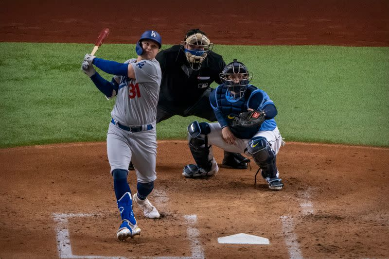 MLB: World Series-Los Angeles Dodgers at Tampa Bay Rays