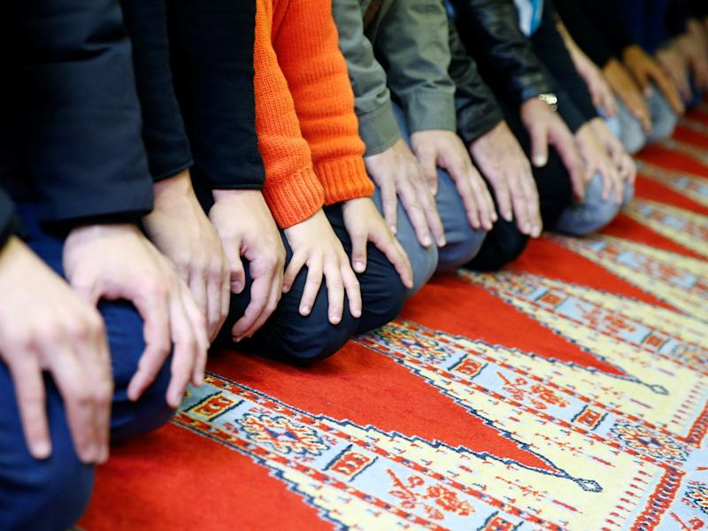 School administrators claimed the use of prayer mats was 'provocative': REUTERS