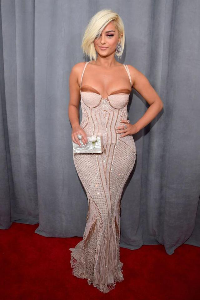 <p>Bebe Rexha attends the 60th Annual Grammy Awards at Madison Square Garden in New York on Jan. 28, 2018. (Photo: John Shearer/Getty Images) </p>