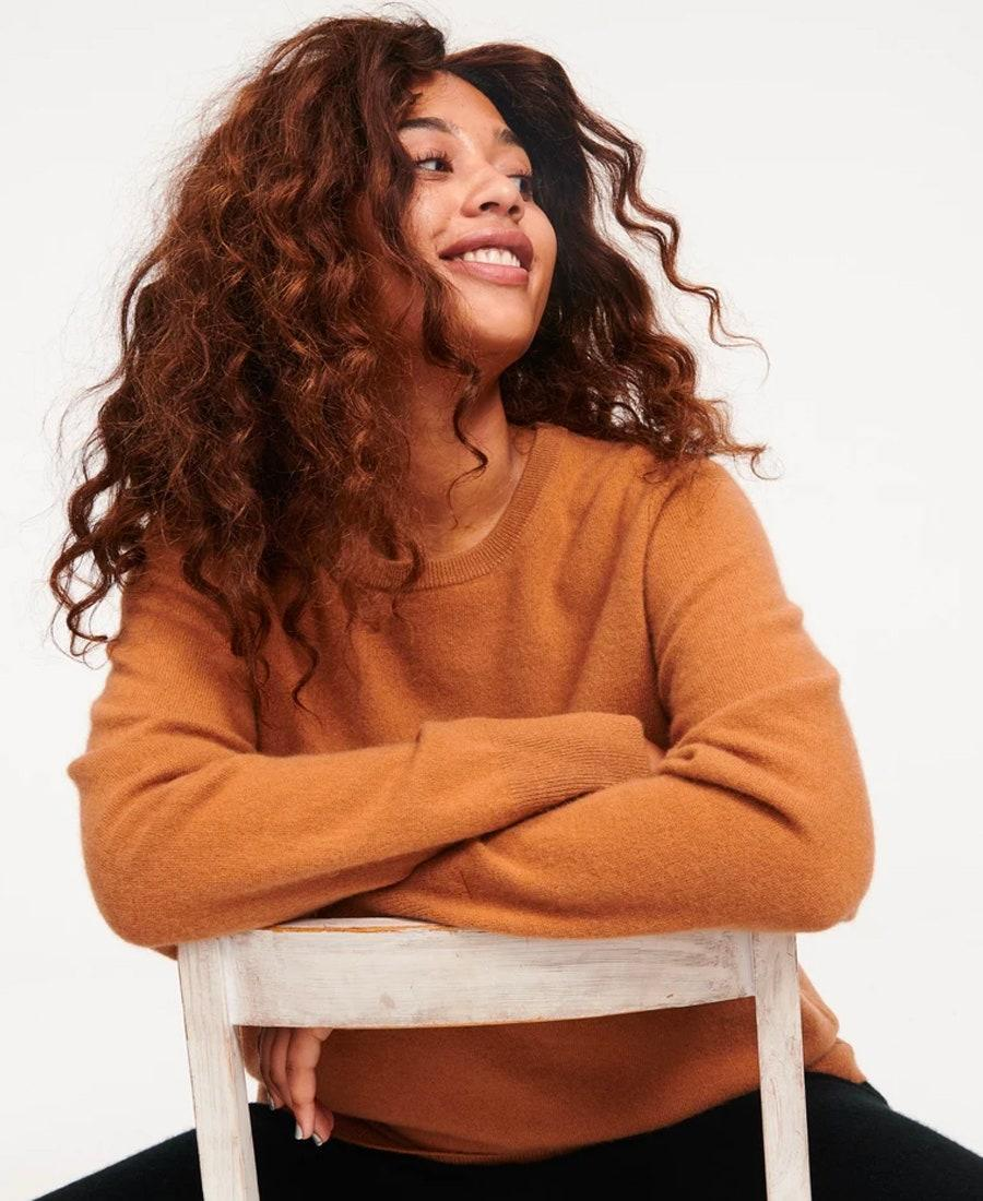 """If you could use a new cashmere pullover, Naadam's Essential Sweater comes in 14 colors and costs only $75. It's a quality piece that costs a fraction of what cashmere usually goes for. $75, Naadam. <a href=""""https://naadam.co/products/the-essential-75-cashmere-sweater-womens?variant=32474754941024"""" rel=""""nofollow noopener"""" target=""""_blank"""" data-ylk=""""slk:Get it now!"""" class=""""link rapid-noclick-resp"""">Get it now!</a>"""