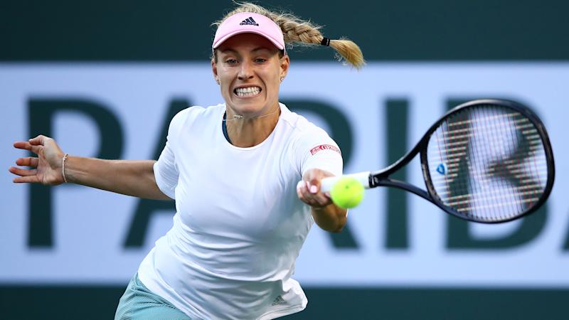 Kerber holds off Williams to set up Indian Wells semi with Bencic