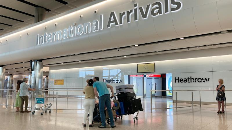 Patel defends quarantine plans as 'essential' for arrivals to the UK