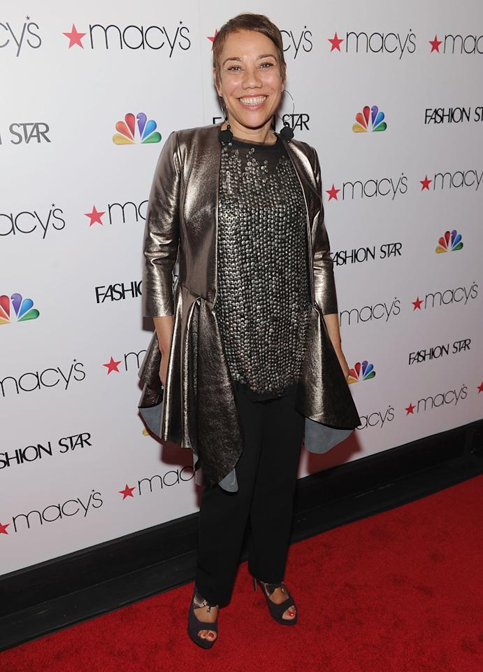 """Designer and 'Fashion Star' participant Barbara Bates attends the """"<a target=""""_blank"""" href=""""http://tv.yahoo.com/fashion-star/show/47285"""">Fashion Star</a>"""" celebration at Macy's Herald Square on March 13, 2012 in New York City."""