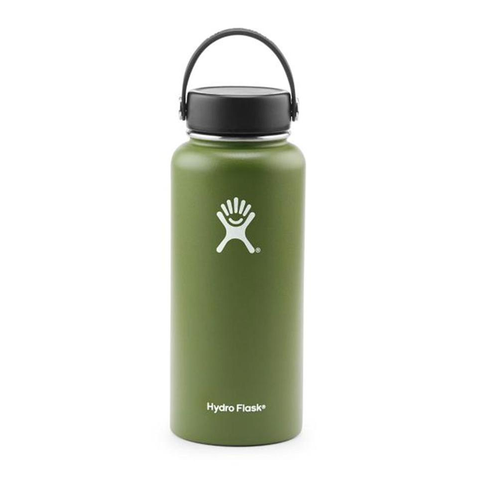 """<p><strong>Hydro Flask</strong></p><p>rei.com</p><p><strong>$39.95</strong></p><p><a href=""""https://go.redirectingat.com?id=74968X1596630&url=https%3A%2F%2Fwww.rei.com%2Fproduct%2F100105&sref=http%3A%2F%2Fwww.menshealth.com%2Ftechnology-gear%2Fg27785406%2Fcamping-essentials%2F"""" target=""""_blank"""">BUY IT HERE</a></p><p>This vacuum-insulated water bottle will keep your beverage chilled for up to 24 hours. With a wide-mouth opening, this stainless-steel option makes it easy to load up with ice cubes. </p>"""