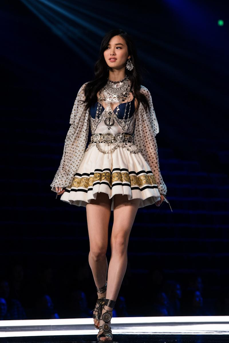a5f882559d4 Here s Every Model Walking in the 2018 Victoria s Secret Fashion Show