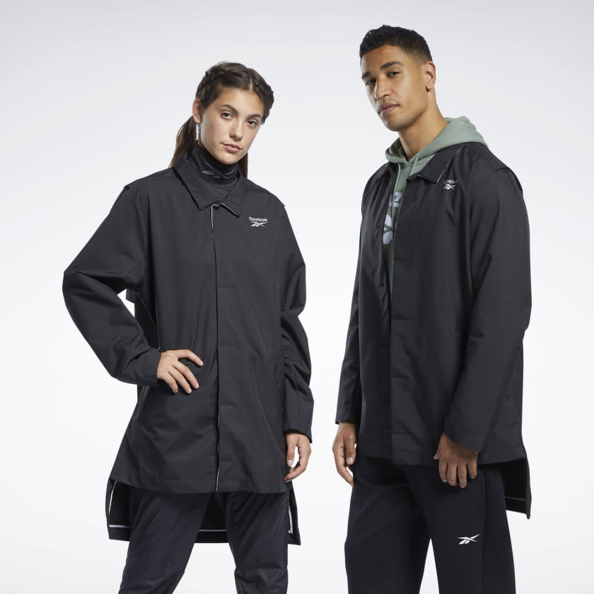 Outerwear Coat. Image via Reebok.