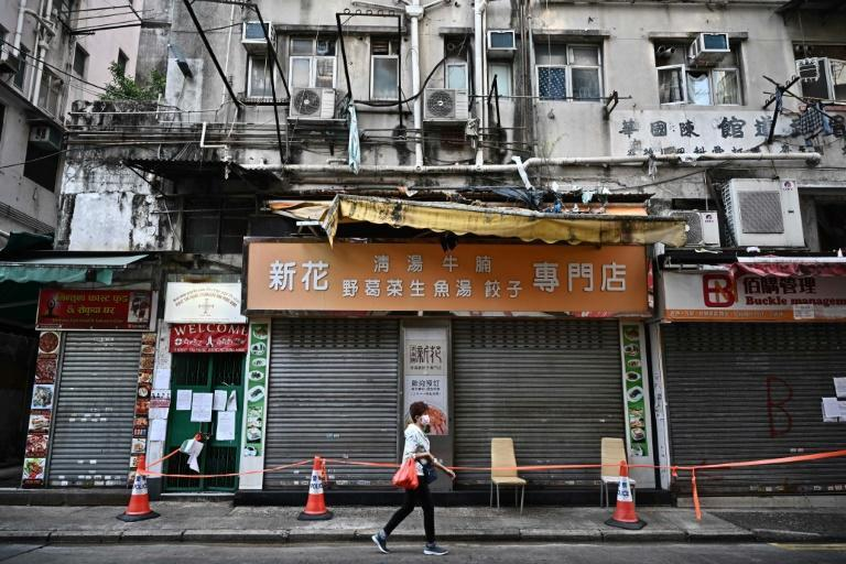 Stubborn clusters have emerged in neighbourhoods within Yau Tsim Mong, a low-income district in Hong Kong notorious for some of the world's most cramped housing