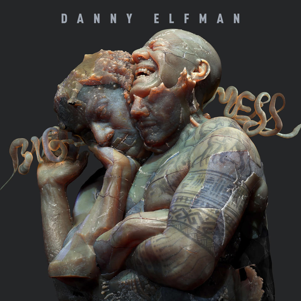 """This cover image released by Anti- shows """"Big Mess,"""" an 18-track double album by Danny Elfman. (Anti- via AP)"""