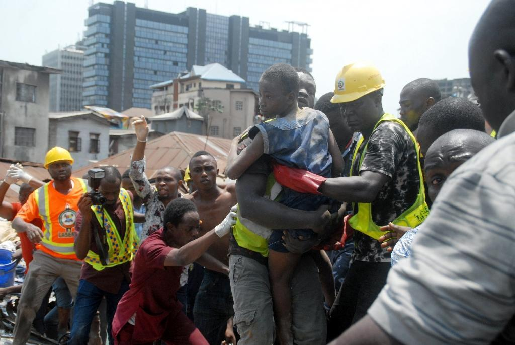 Search ends in Lagos building collapse as anger flares