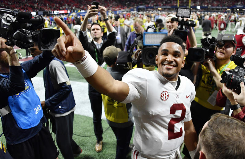 Bama QB Jalen Hurts takes steps towards a transfer