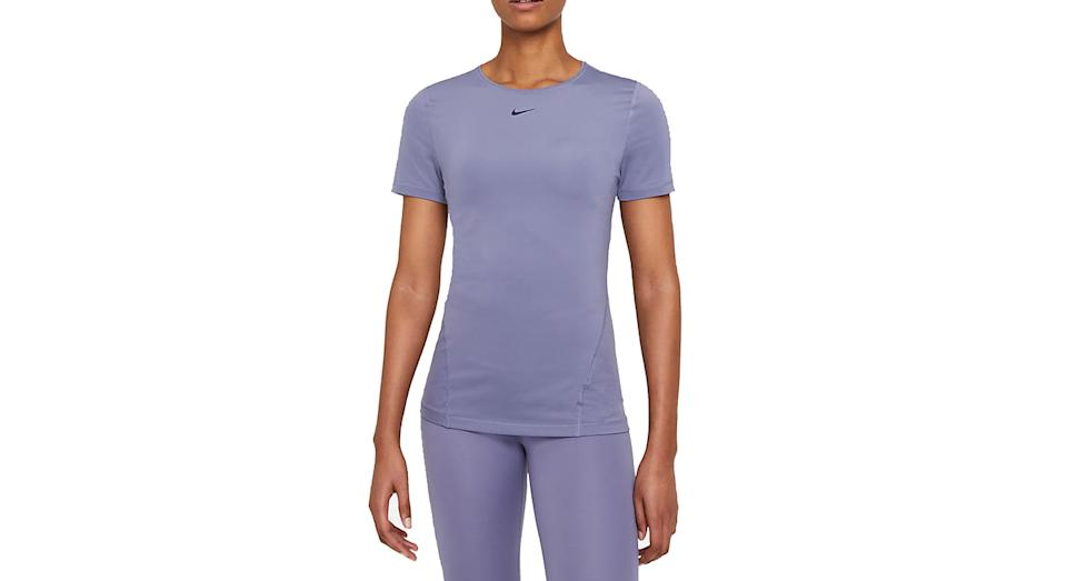 Women's Short-Sleeve Mesh Training Top (Nike)
