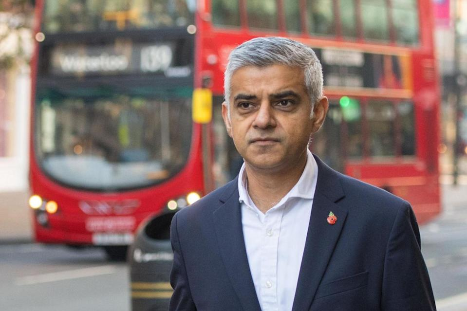<p>Sadiq Khan just presented his draft budget for City Hall</p> (PA)