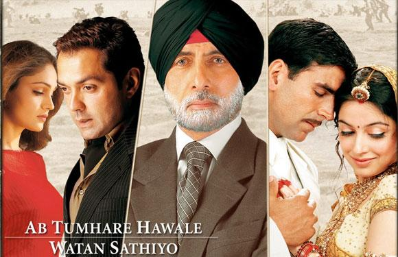 The song 'Ab Tumhare Hawale Watan Saathiyon' in the film by the same name is the longest Hindi film song. The length of this iconic song is 20 minutes and the song is featured in three installments in the film.<br><br>