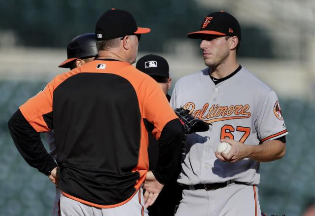 Even in rough start, Orioles' John Means displays continued growth in efficiency