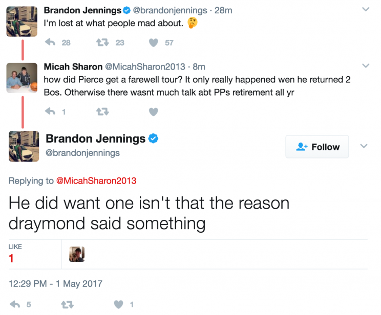 Brandon Jennings really does have no idea what he is talking about. (Twitter)