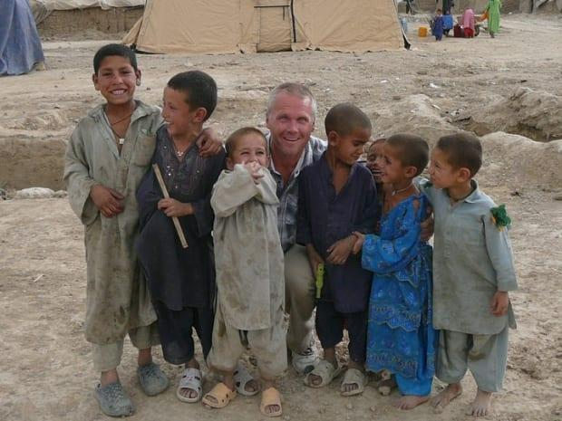Spencer Sekyer taught at a school in Kabul in summer 2010 where he met the couple he's now trying to get help flee Afghanistan.  (Submitted by Spencer Sekyer - image credit)