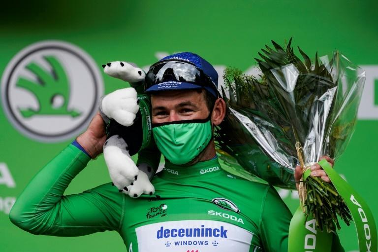 Mark Cavendish is back in the sprinters green jersey