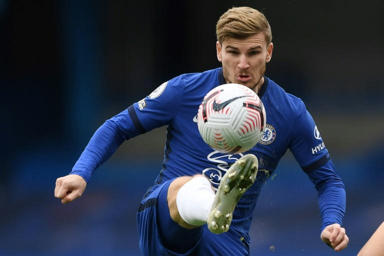 Timo Werner scored twice in Chelsea's 3-3 draw with Southampton