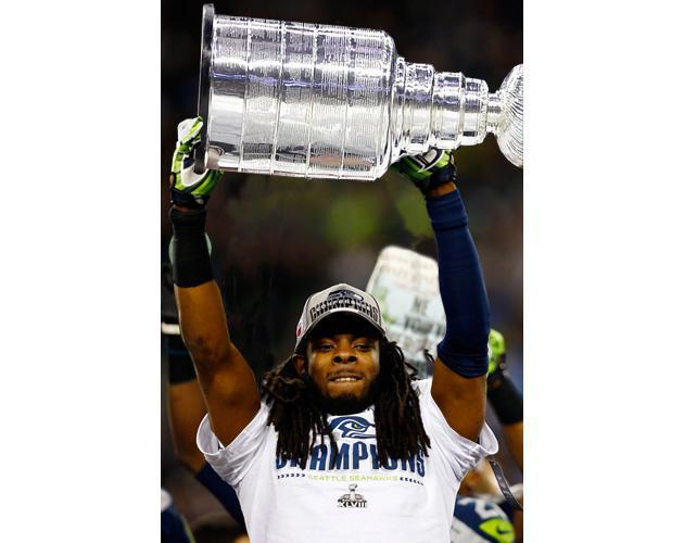 Richard Sherman thinks hockey players are thugs, and we sigh deeply
