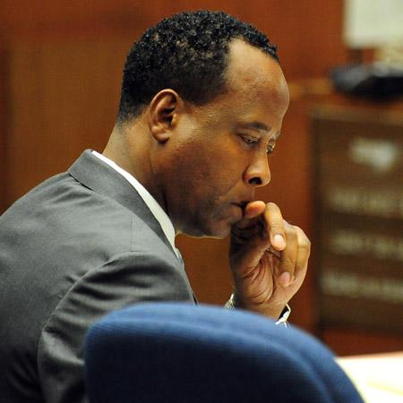 Dr Conrad Murray denied bail