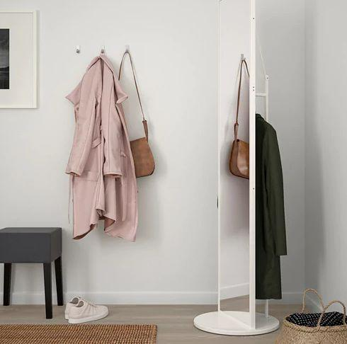 """Perfect for setting aside your clothes for the next day and then taking those outfit selfies. <a href=""""https://fave.co/2ZzXaFA"""" target=""""_blank"""" rel=""""noopener noreferrer"""">Find it for $150 at IKEA.</a>"""
