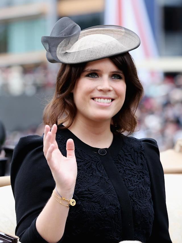 ASCOT, ENGLAND - JUNE 18: Princess Eugenie attends day one of Royal Ascot at Ascot Racecourse on June 18, 2013 in Ascot, England. (Photo by Chris Jackson/Getty Images for Ascot Racecourse)