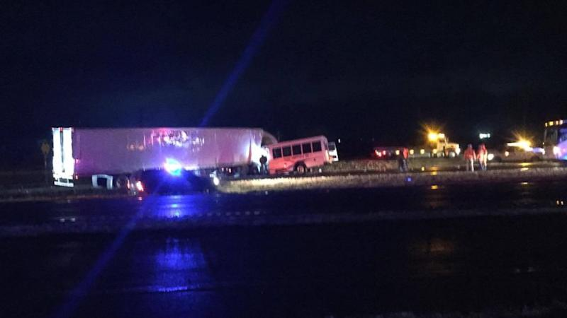 1 Dead After Bus Carrying High School Cheerleaders in Texas Collides With 18-Wheeler