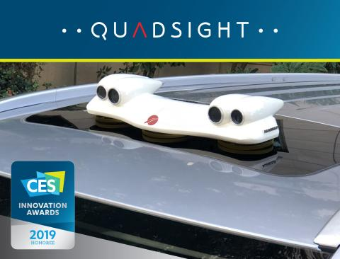 Foresight's QuadSight™ Makes the Invisible Visible for Drivers in All Weather and Lighting Conditions at CES 2019