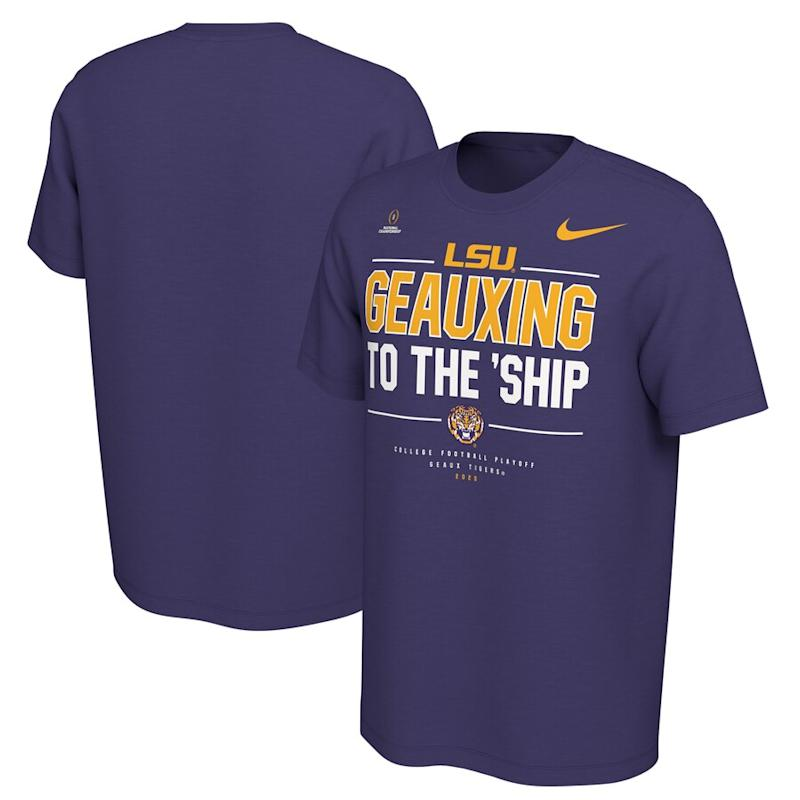 LSU 2020 National Championship Bound T-Shirt