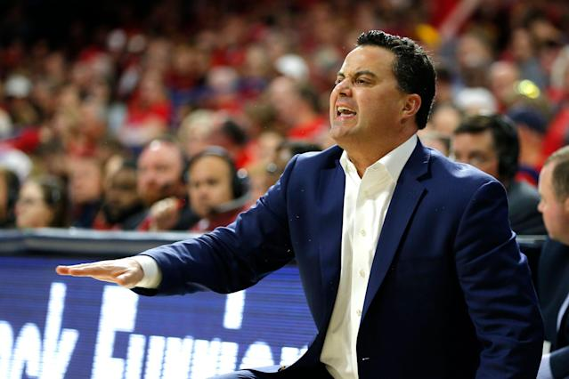 Head coach Sean Miller has led Arizona the past 10 seasons. (AP)