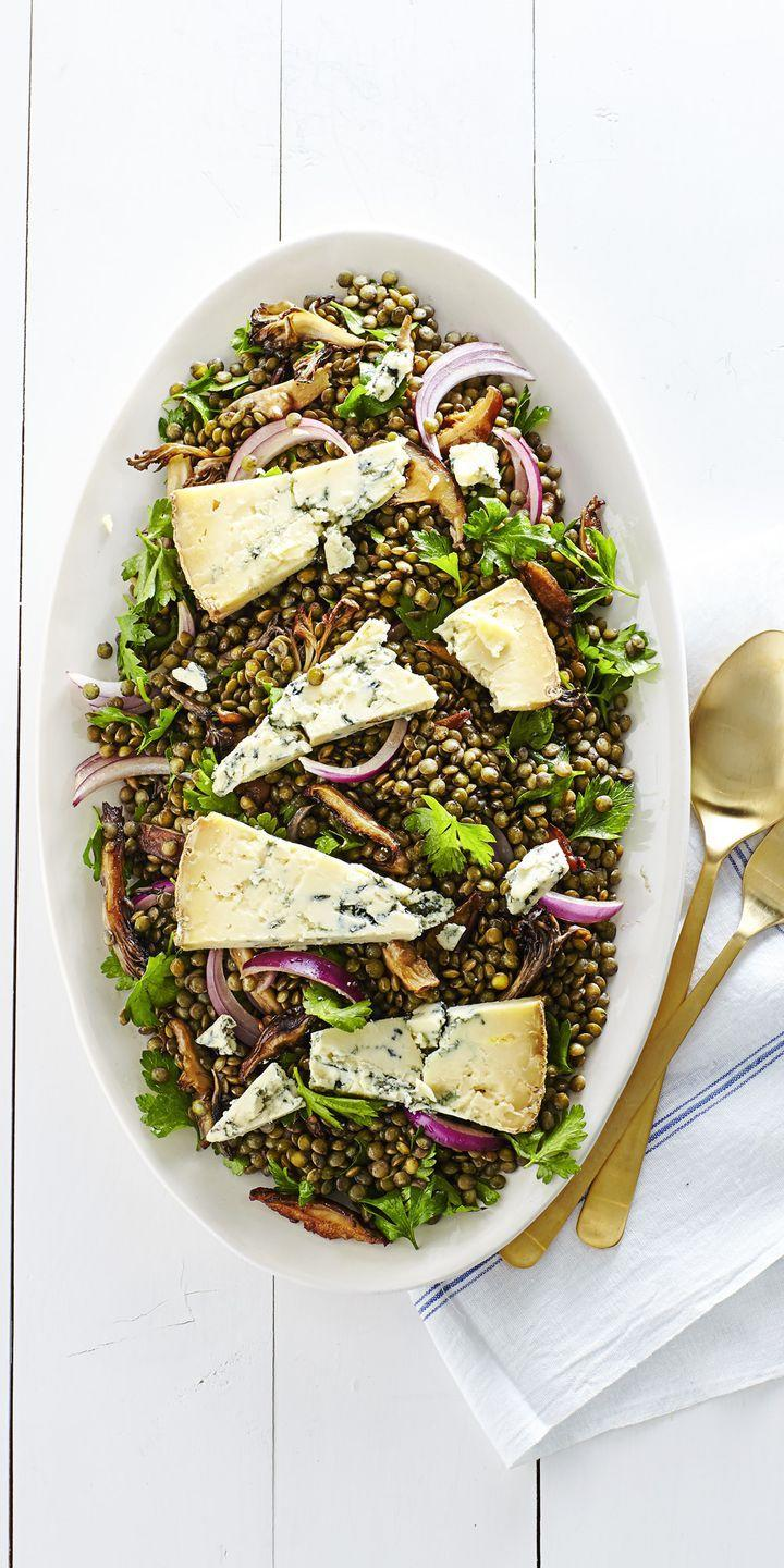 "<p>Finally, a salad sophisticated enough to serve to your fanciest friends. </p><p><em><a href=""https://www.goodhousekeeping.com/food-recipes/easy/a35778/warm-wild-mushroom-and-lentil-salad/"" rel=""nofollow noopener"" target=""_blank"" data-ylk=""slk:Get the recipe for Warm Wild Mushroom and Lentil Salad »"" class=""link rapid-noclick-resp"">Get the recipe for Warm Wild Mushroom and Lentil Salad »</a></em> </p><p><strong>RELATED:</strong> <a href=""https://www.goodhousekeeping.com/food-recipes/healthy/g180/healthy-salads/"" rel=""nofollow noopener"" target=""_blank"" data-ylk=""slk:30 Healthy Salads for a Very Filling, Very Un-boring Meal"" class=""link rapid-noclick-resp"">30 Healthy Salads for a Very Filling, Very Un-boring Meal</a></p>"