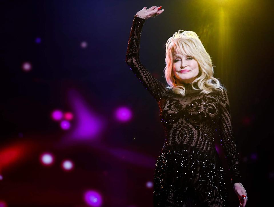 Dolly Parton. (Rich Fury/Getty Images for The Recording Academy)