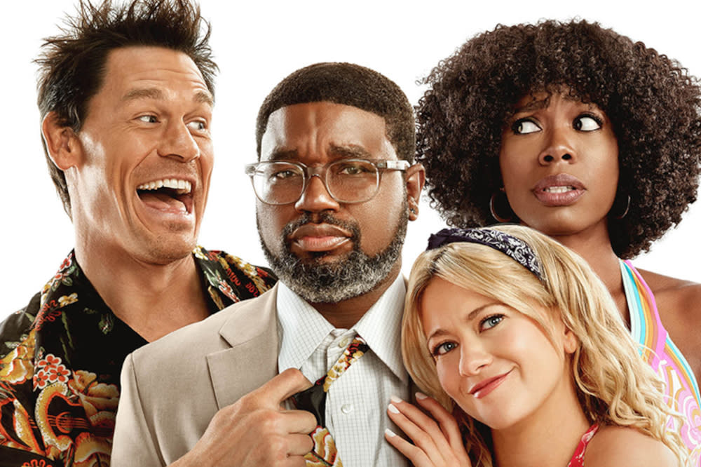John Cena and Lil Rel Howery lead new comedy movie 'Vacation Friends'. (Disney)