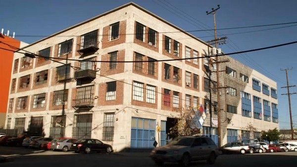 <p>Nestled near downtown LA, the building used for the exterior shots of the Fox sitcom is actually a real-life apartment building you could rent, although I can't guarantee the roommates will be as fun.</p><p>836 Traction Avenue, Los Angeles, United States</p>
