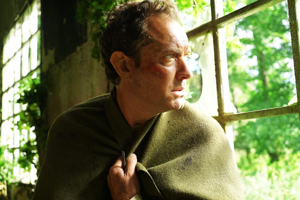 Jude Law as Sam in The Third Day. (Liam Daniel/Sky)