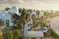 When it first debuted in 1988, Cap Juluca quickly became a favorite of the jet-set, who were drawn in by the pristine sands of Maundays Bay and the airy, Moroccan-style domed villas that dot them. By the time Belmond acquired the property in 2017, an update was long overdue—and just a week after they closed it, Hurricane Irma rolled through, destroying everything but those sugar-cube villas. It reopened again in late 2018 with five new villas, two new restaurants (including a revamped Pimms), and a gleaming spa—when just days later, LVMH announced it had reached a deal to acquire Belmond, as sure a sign as any that the smart set will continue to find their way to this Maundays Bay luxury resort for years to come. Of course, you'll spend plenty of your time laying out on the beach, but don't ditch the villas during the daytime altogether—outfitted with four-poster beds, linen curtains that balloon when the door opens, and soft Beni Ourain carpets, they transform a late-afternoon nap into a pleasure without the guilt.