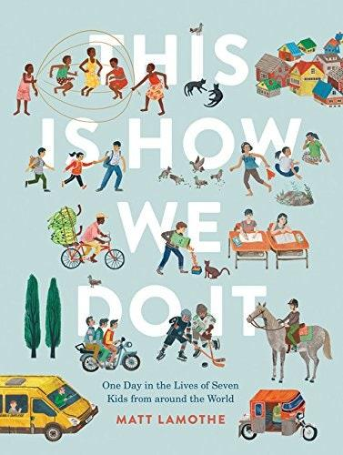 """A great book that lets kids learn, understand, and explore different cultures and places. It takes them on journeys to Italy, Japan, Iran, India, Peru, Uganda, and Russia—a kick-starter for planning a future family trip. $10.89, Amazon. <a href=""""https://www.amazon.com/This-How-We-Do-around/dp/1452150184"""">Get it now!</a>"""