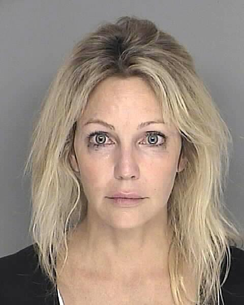 Heather Locklear's 2008 mug shot. (Photo: Santa Barbara County Sheriff's Office/AP)