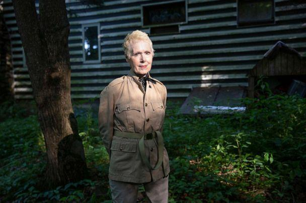 PHOTO: E. Jean Carroll at her home in New York state, June 21, 2019. (The Washington Post via Getty Image, FILE)